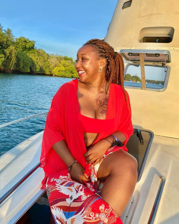 Defiant K24 TV anchor  Betty Kyallo continues showing off goodies