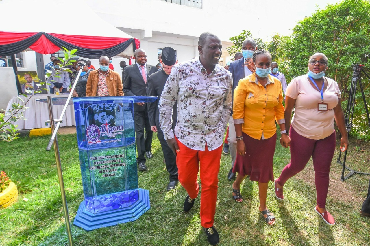 DP RUTO reveals the Executive Order he will overturn after winning the 2022 presidential election – UHURU and RAILA should be careful with this man