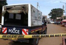 Police arrest murder suspect