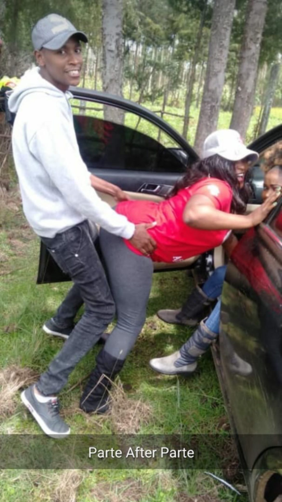Samidoh Caught Dry Humping A Post Wall Slay Queen Like A Bull On Heat Barely 2 Days After Spoiling His Wife On Birthday – This Man Can't Zip Up (See Photo)