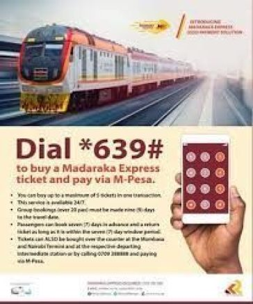 sgr booking mpesa