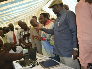 RAILA got a rude shock in HOMABAY after he caught IEBC clerks doing this