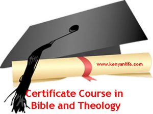 Theology Colleges, Theology Schools and Theology Universities offering Certificate in Bible & Theology, Advanced Certificate in Church Management and Leadership, Certificate in Christian Communication, Certificate in Christian Ministries
