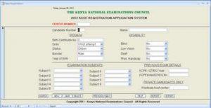 KNEC KCSE Registration