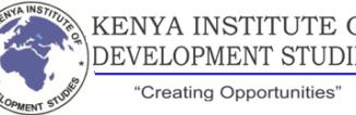 Kenya Institute of Development Studies Courses