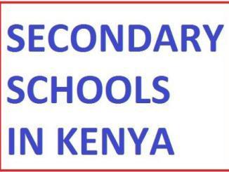 Kapsogut Secondary School