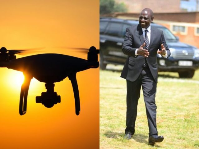 British National arrested after flying drone over DP Ruto's home