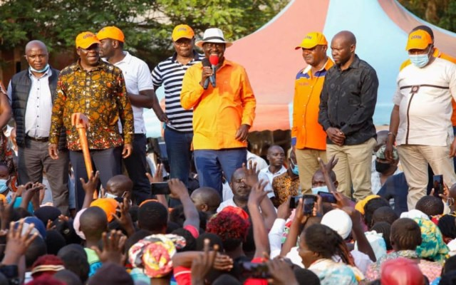 RAILA in trouble even in sickness as ODM rebels issue an ultimatum – See what they told BABA as cracks emerge in the Orange party