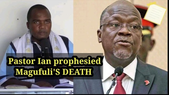 Here is a pastor who prophesied MAGUFULI's death in 2019 – This man is a true servant of God (VIDEO)