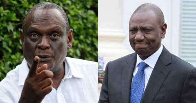 MURATHE responds to DP RUTO after he called him a drunkard – This is turning ugly