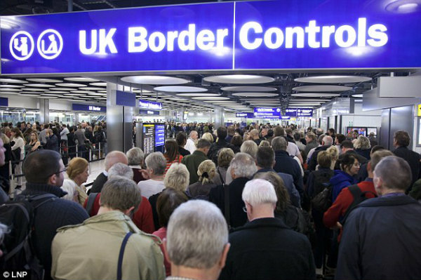 Allowed in: Ministers said an 'uncontrolled' flow had caused a number of problems for wider society