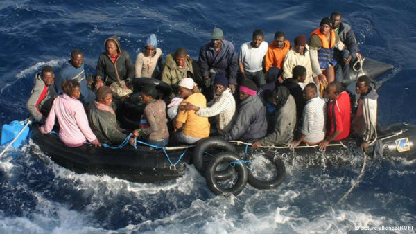 Many migrants have lost their lives trying to cross the Mediterranean in vessels that are barely shipworthy