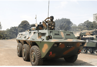 Meet KDF Armoured Battalion, The Iron Horse Riders