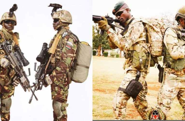 Inside Gilgil's Barracks, Home Of Kenya Special Forces, 40RSF And 30SF Differentiated