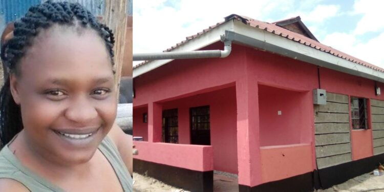 Photos: Kenyan Woman Builds Three Bedroom House From Selling Chips