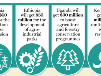 How the $155 Million Credit facility will be shared by EA Countries(Source; The East African)