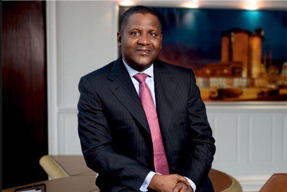 Nigerian Business Tycoon Aliko Dangote