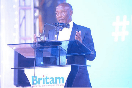 Britam CEO Benson Wairegi During a past Event