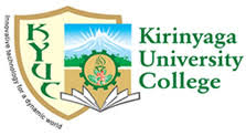 Kirinyaga University Intake Application Form