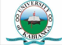 University of Kabianga Application Form