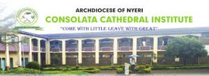 Consolata Cathedral Institute Admission Letter
