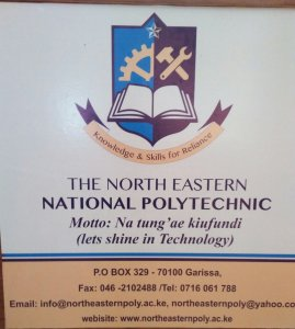 North Eastern National Polytechnic Student Portal