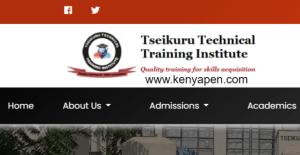 Tseikuru Technical Training Institute Student Portal