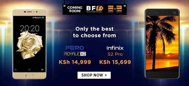 Jumia Kenya Black Friday 2019 Mobile Phone Prices