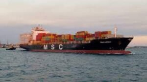 Mediterranean Shipping Company (MSC) On of the largest shipping company in the world 2019.