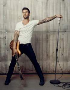 Adam Levine one of the Top Sexiest Men In The World