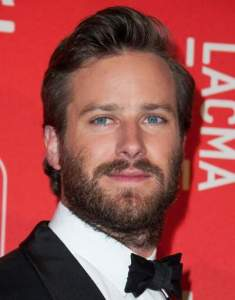Armie Hamme on the List Of Most Beautiful Men In The World 2019