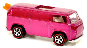 1969 Pink VW Beach Bomb the Most Expensive Hot Wheels cars in The World Right Now