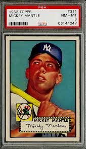 Mickey Mantle 1952 Topps Most Expensive Baseball Cards In The World