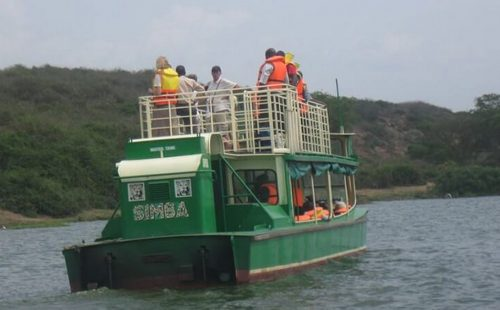 Boat Cruise at Kazinga Channel Queen Elizabeth National Park Uganda
