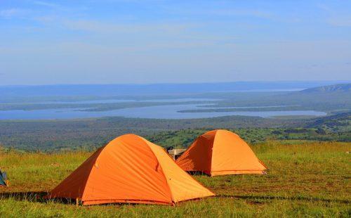 Shakani campsite Akagera National Park Rwanda