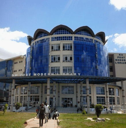 kenyatta university post modern library