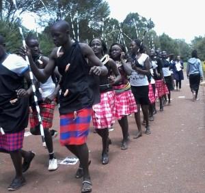 Maasai Dance-Cultural week Moi University