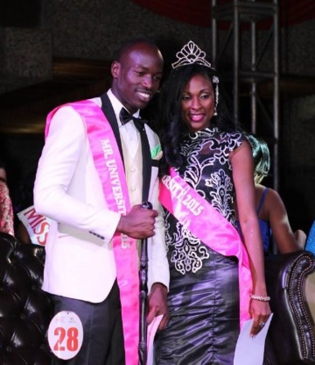 Mr and Miss University  2015