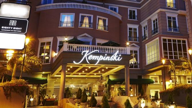Kempinski hotel website