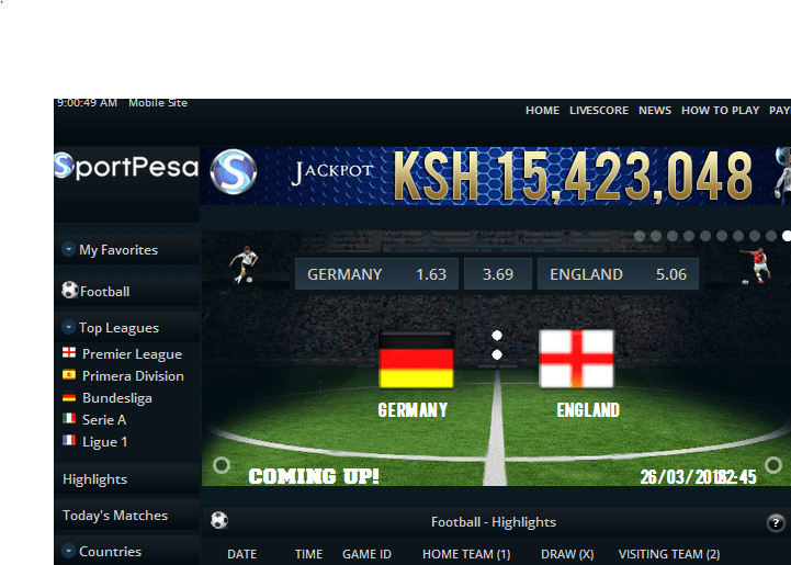 Betting games sportpesa east best binary options trading platform 2021 gmc