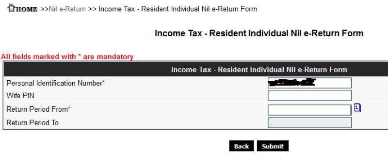 taz return form 4