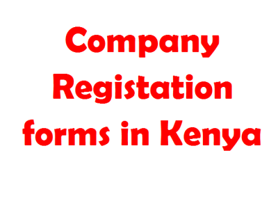 company registration forms in kenya online download