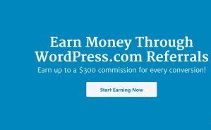 wordpress.com affiliate program and how it works