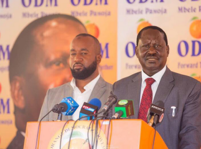 ODM party Busia county nomations results winner, Sospeter Ojaamong vs Paul Otuoma
