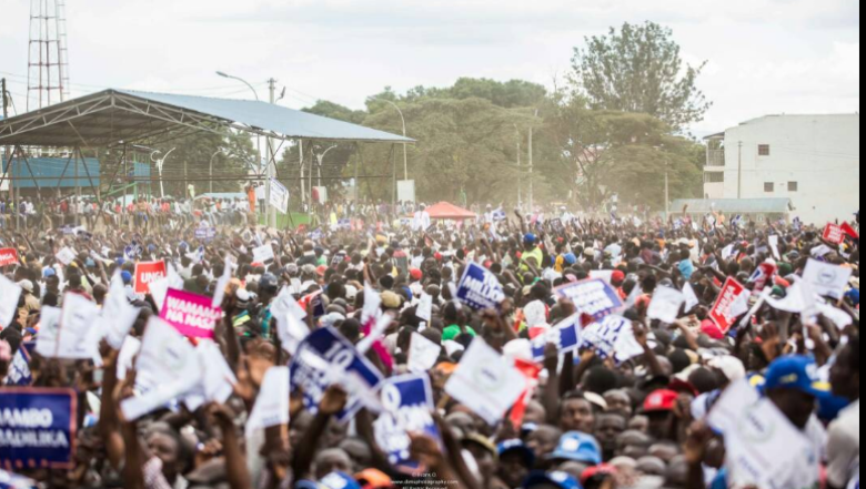 ODM, Wiper, CCM, ANC, Ford Kenya in Nakuru Rally