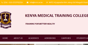 KMTC list of successful candidates for September 2017 Intakes, Selected students for admission