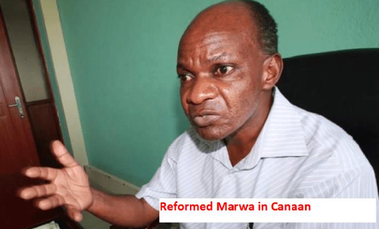 Raila Odinga in Canaan photo meme