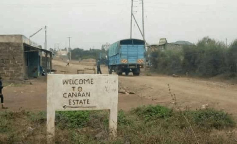 Raila odinga Canaan memes