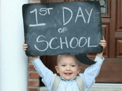 How to prepare your child for their first day at school