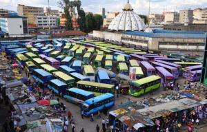 Most Common Bus Stations in Nairobi, Matatu stages, terminus